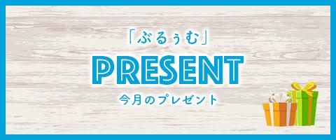 「ぶるぅむ」今月のプレゼント